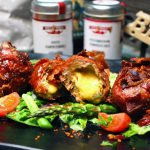 Crispy Bacon Chili Cheese Moink Balls