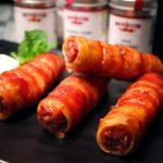 Little Italy, Cannelloni mit Hackfleisch, Bacon und Chilikäse