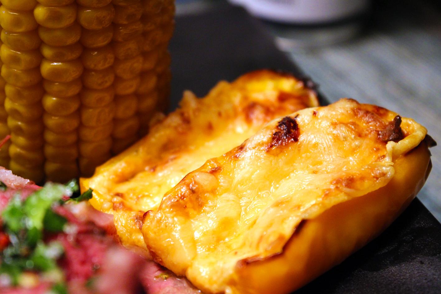 lauwarmer kartoffelsalat mit speck